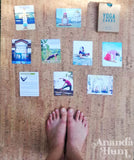 yoga cards to build sequence