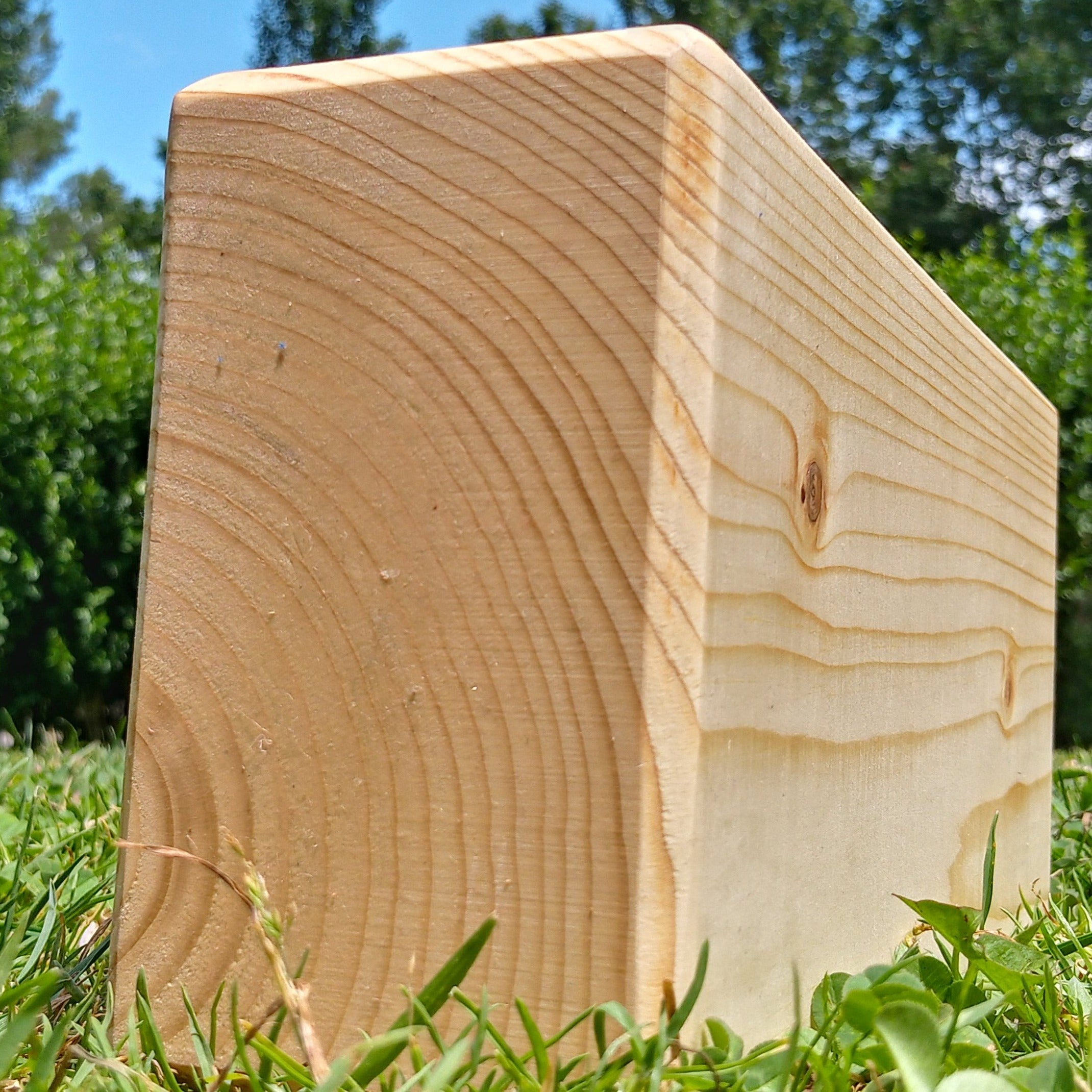 light wood yoga block