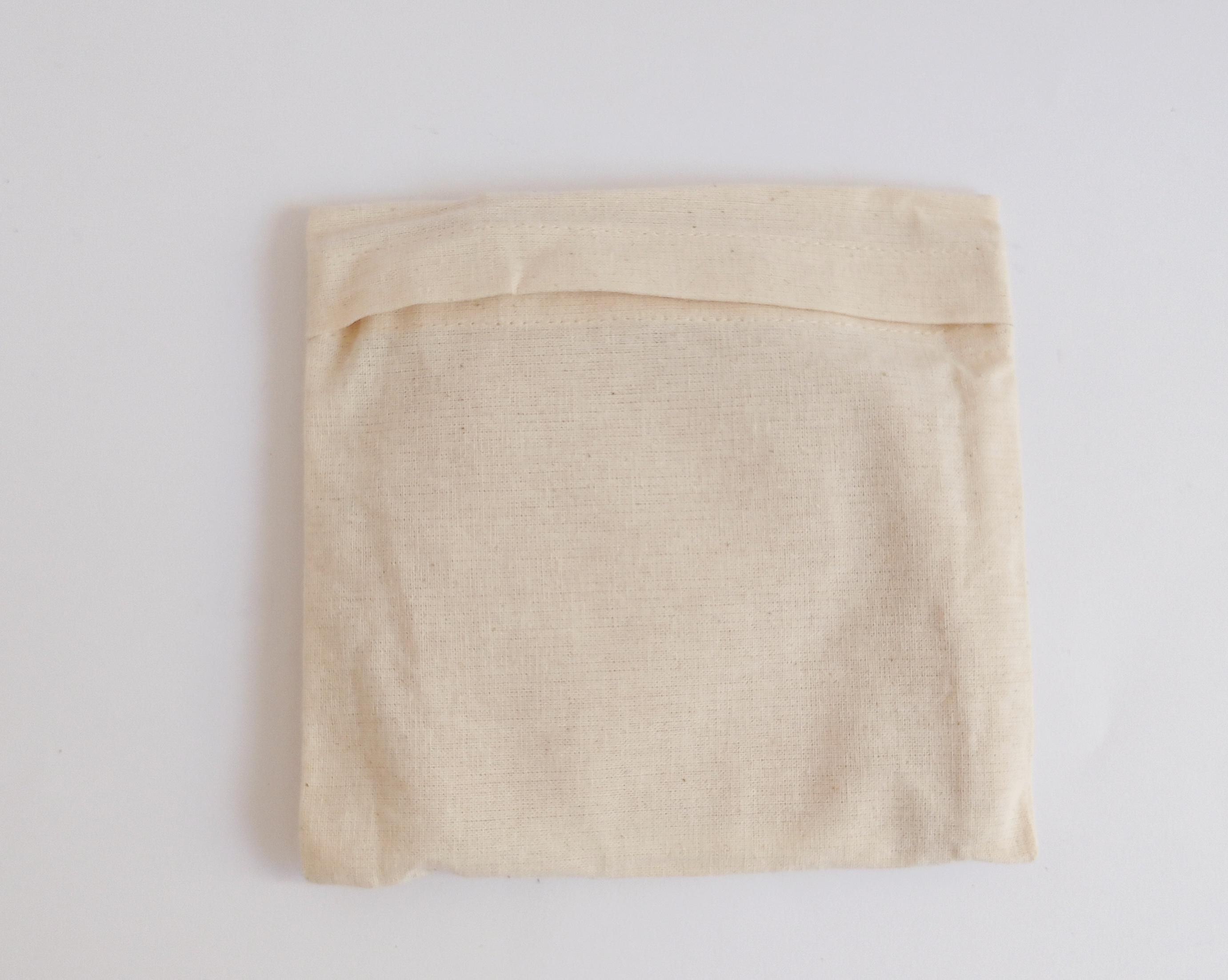 organic cloth face mask with pouch bag