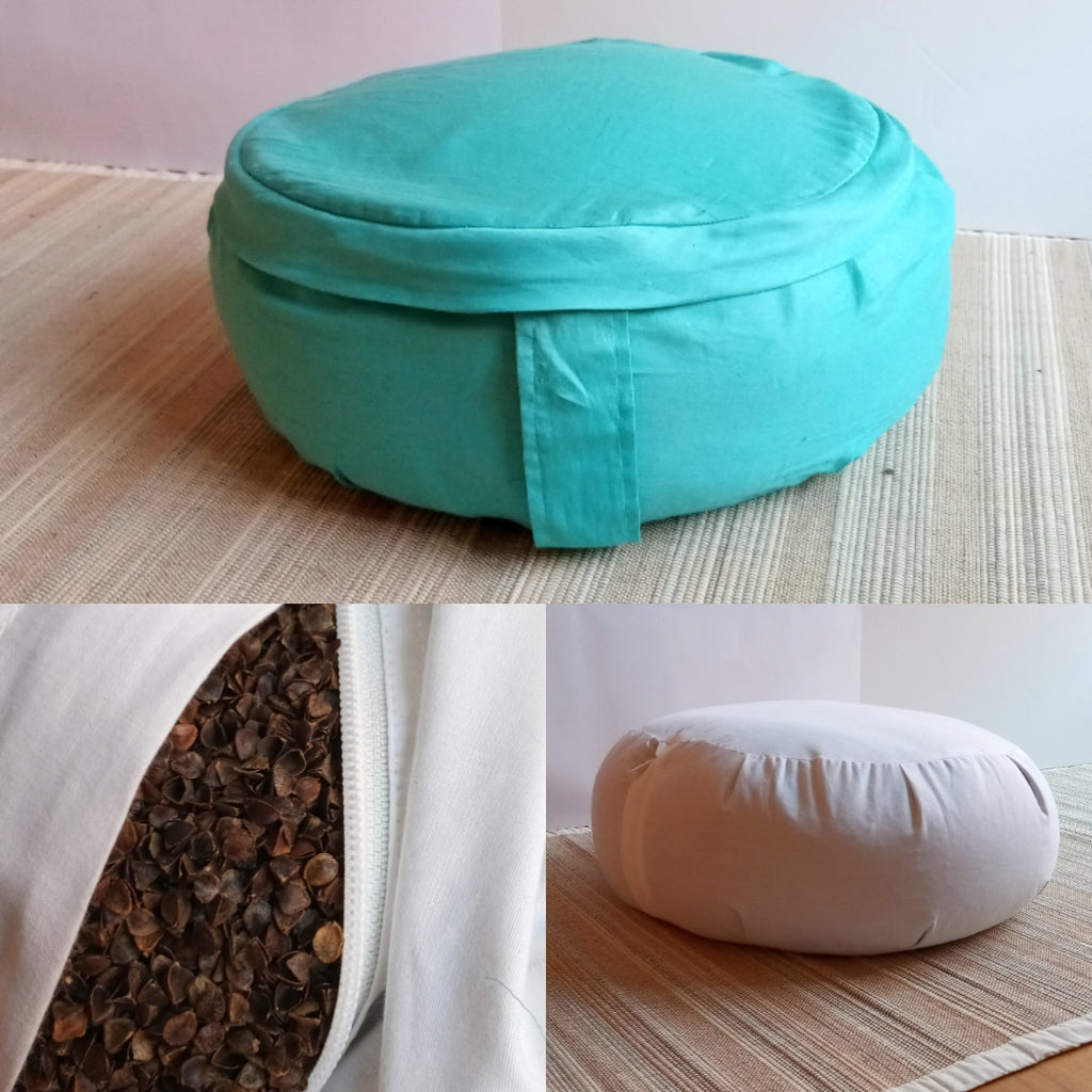 biodegradable meditation cushion