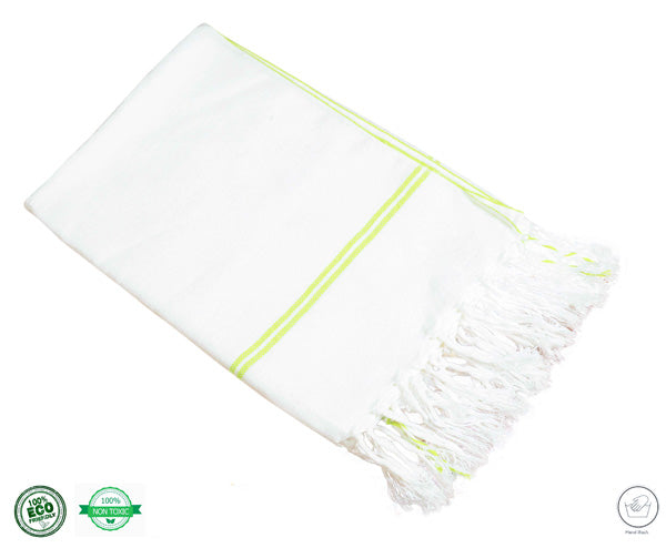 Organic Cotton Yoga Towel - Large