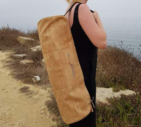Cork Yoga Mat Bag - Vegan