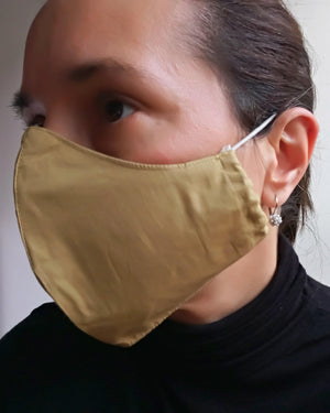 Organic Cloth Face Mask - Naturally Dyed