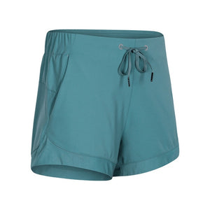Naked-feel Yoga Shorts with Pockets