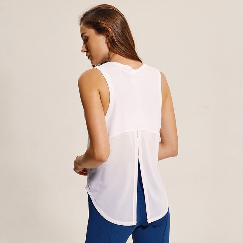 Yoga Loose Fit Vest Top