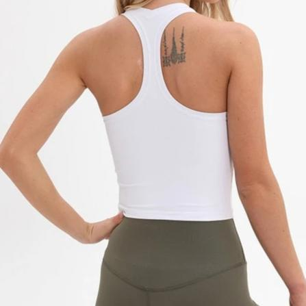crop yoga top