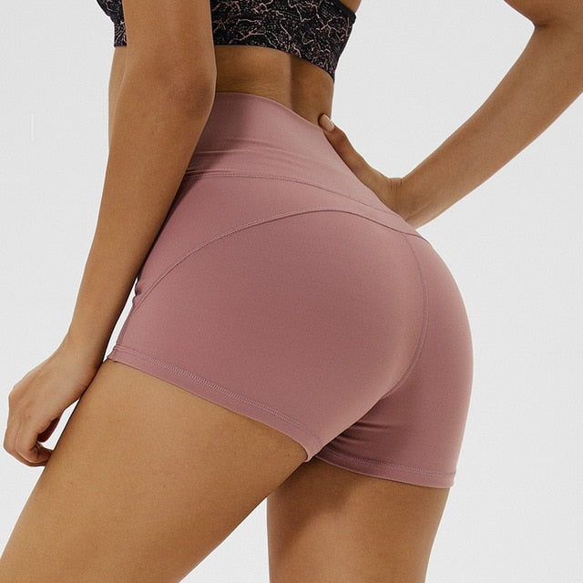 High Waist Yoga Shorts for Women