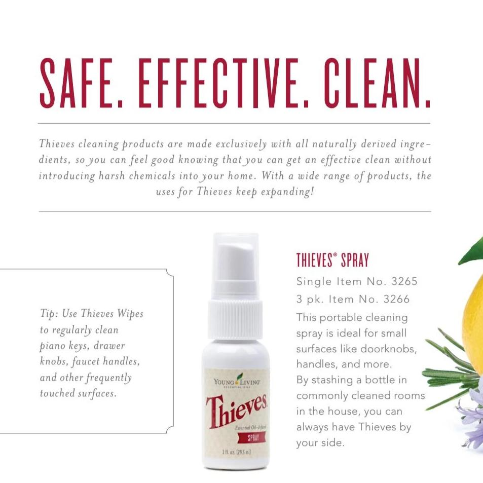 Thieves Yoga Mat Cleaning Spray 1 oz