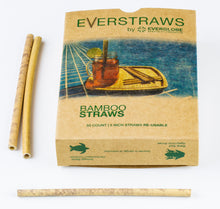 Load image into Gallery viewer, Bamboo Drinking Everstraws - Everglobe Corporation