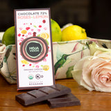 3 Pack of Hoja Verde Roses+ Lemon 72% Chocolate - Everglobe Corporation