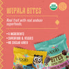 Wipala Super Fruit Bites | USDA Organic and Vegan Certified |12 Count. - Everglobe Corporation