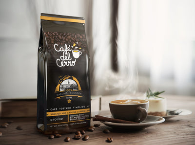 Cafe del Cerro | Arabica coffee from Ecuador | Roasted and Ground Coffee - Everglobe Corporation