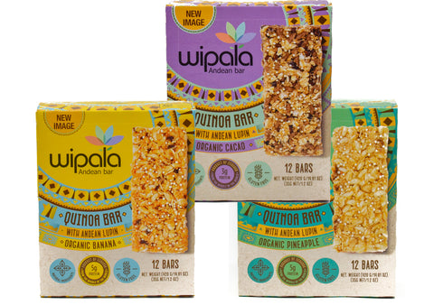 Wipala Trio Flavor Bundle Variety Pack , Vegan, Gluten-Free, Non-GMO - Everglobe Corporation