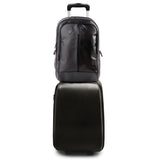 ProShield Pro Black Sleek Leather Bulletproof Backpack - Everglobe Corporation