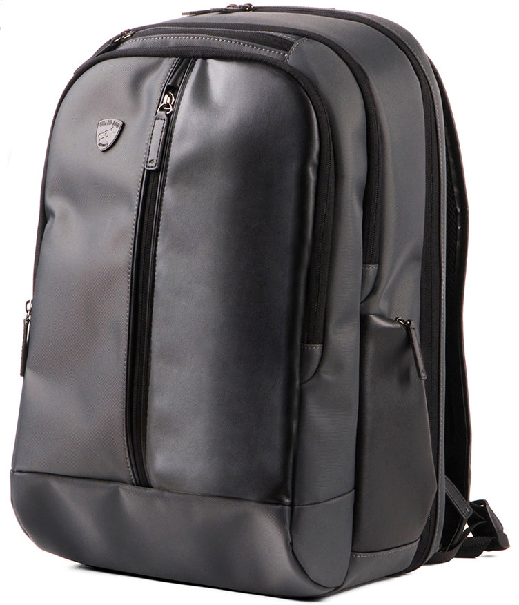 ProShield Pro Black Sleek Leather Bulletproof Backpack