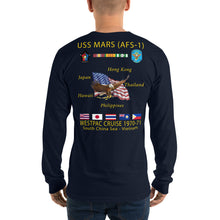 Load image into Gallery viewer, USS Mars (AFS-1) 1970-71 Long Sleeve Cruise Shirt