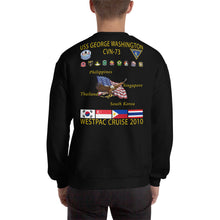 Load image into Gallery viewer, USS George Washington (CVN-73) 2010 Cruise Sweatshirt