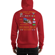 Load image into Gallery viewer, USS John F. Kennedy (CV-67) 1983-84 Cruise Hoodie