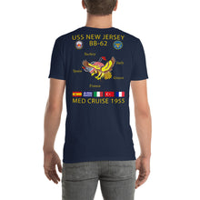 Load image into Gallery viewer, USS New Jersey (BB-62) 1955 Cruise Shirt