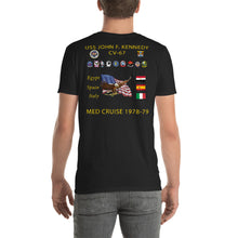 Load image into Gallery viewer, USS John F. Kennedy (CV-67) 1978-79 Cruise Shirt