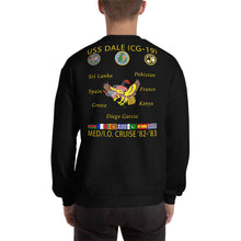 Load image into Gallery viewer, USS Dale (CG-19) 1982-83 Cruise Sweatshirt