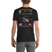 Load image into Gallery viewer, USS George Washington (CVN-73) 2012 Cruise Shirt