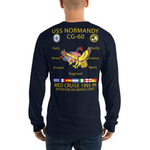 Load image into Gallery viewer, USS Normandy (CG-60) 1995-96 Long Sleeve Cruise Shirt