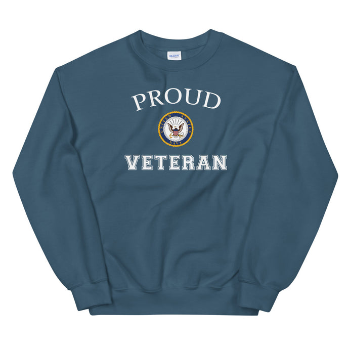 Proud Navy Veteran Unisex Sweatshirt