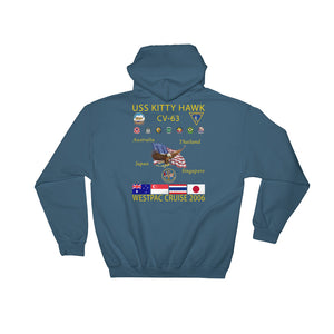 USS Kitty Hawk (CV-63) 2006 Cruise Hoodie