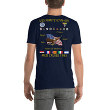 Load image into Gallery viewer, USS Nimitz (CVN-68) 1985 Cruise Shirt