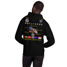 Load image into Gallery viewer, USS Constellation (CV-64) 2001 Cruise Hoodie