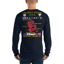 Load image into Gallery viewer, USS John C. Stennis (CVN-74) 2016 Long Sleeve ORT Cruise Shirt