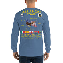 Load image into Gallery viewer, USS Anzio (CG-68) 2003 Long Sleeve Cruise Shirt