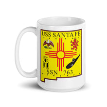Load image into Gallery viewer, USS Santa Fe (SSN-763) Ship's Crest Mug