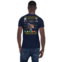 Load image into Gallery viewer, USS Enterprise (CVAN-65) 1964 Operation Sea Orbit Cruise Shirt
