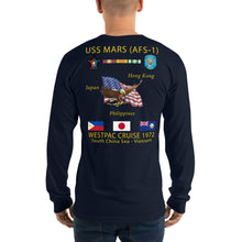 Load image into Gallery viewer, USS Mars (AFS-1) 1972 Long Sleeve Cruise Shirt
