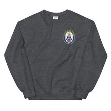 Load image into Gallery viewer, USS Harpers Ferry (LSD-49) Ship's Crest Sweatshirt