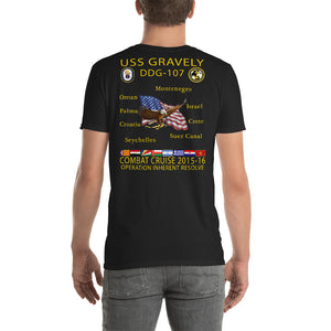 USS Gravely (DDG-107) 2015-16 Cruise Shirt