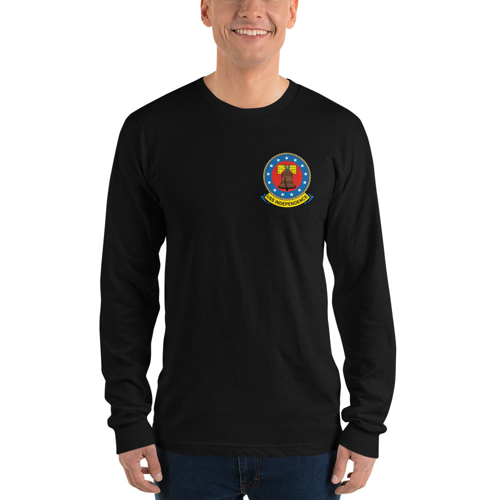 USS Independence (CV-62) 1977 Long Sleeve Cruise Shirt