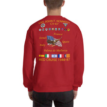 Load image into Gallery viewer, USS John F. Kennedy (CV-67) 1986-87 Cruise Sweatshirt