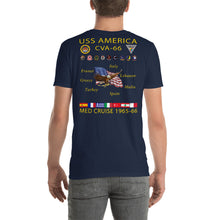 Load image into Gallery viewer, USS America (CVA-66) 1965-66 Cruise Shirt