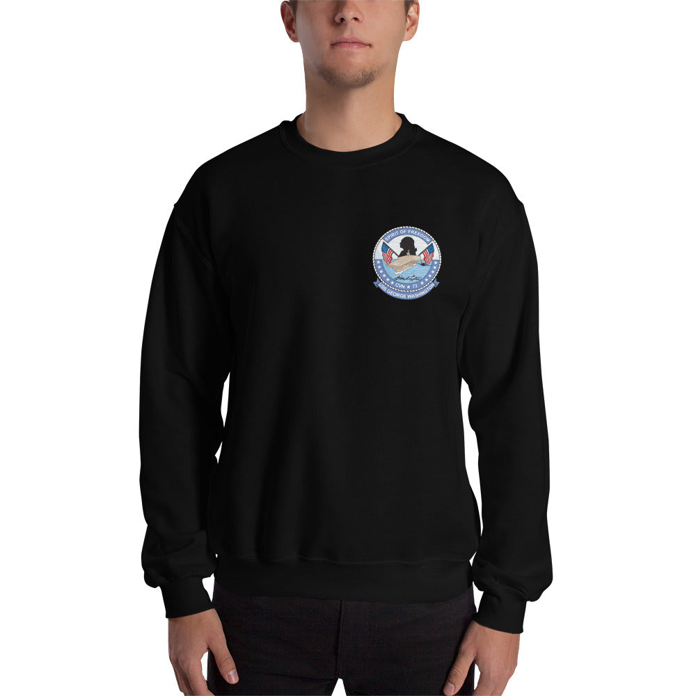 USS George Washington (CVN-73) 2010 Cruise Sweatshirt