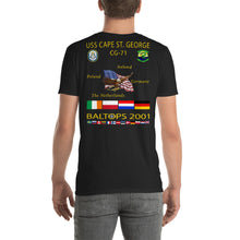 Load image into Gallery viewer, USS Cape St George (CG-71) 2001 Cruise Shirt