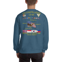Load image into Gallery viewer, USS Constellation (CV-64) 1980 Cruise Sweatshirt - Gonzo Station