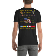 Load image into Gallery viewer, USS America (CVA-66) 1967 Cruise Shirt