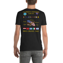 Load image into Gallery viewer, USS Dwight D. Eisenhower (CVN-69) 1982 Cruise Shirt