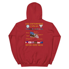 Load image into Gallery viewer, USS Enterprise (CVN-65) 1982-83 Cruise Hoodie