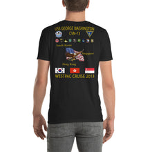 Load image into Gallery viewer, USS George Washington (CVN-73) 2013 Cruise Shirt