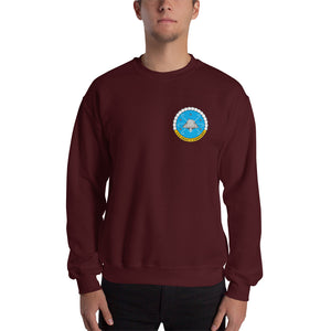 USS Dwight D. Eisenhower (CVN-69) 2012 Cruise Sweatshirt