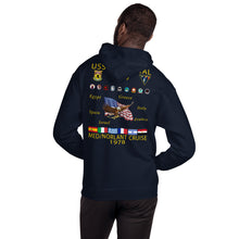 Load image into Gallery viewer, USS Forrestal (CV-59) 1978 Cruise Hoodie